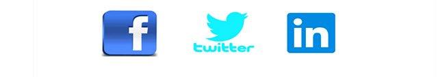3 social channels