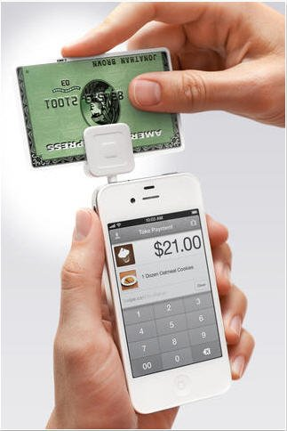 That Square Card Reader will soon be transmitting data to QuickBooks and QuickBooks Point-of-sale.