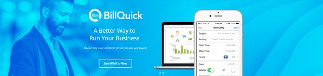 BillQuick Home Page Banner