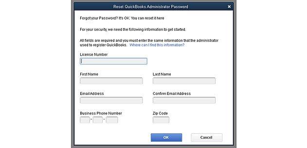 Password reset feature