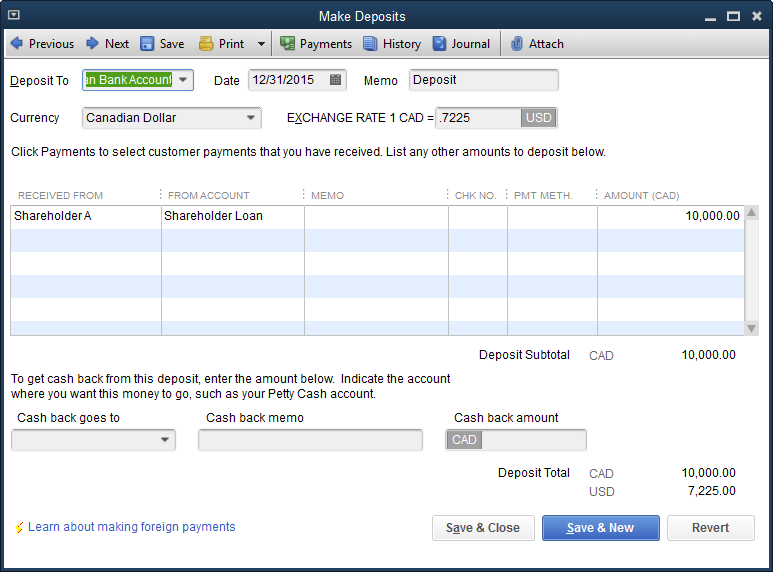 Quickbooks Desktop Your Home Currency Adjustment Super Trick Insightfulaccountant