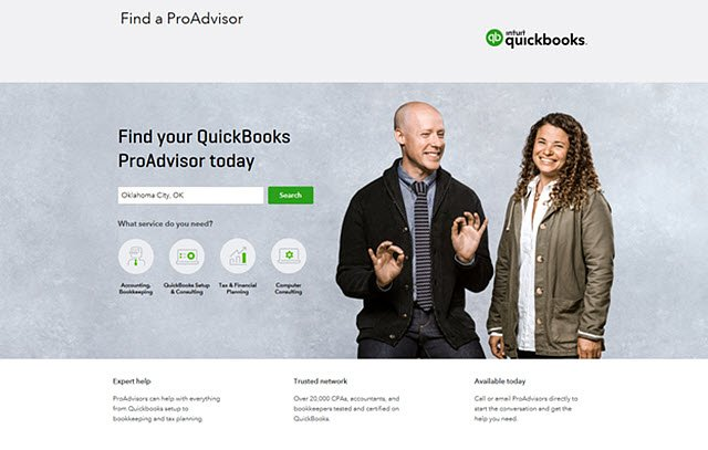 Find-a-ProAdvisor Marketplace (2017)