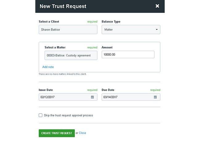 Clio Trust Request