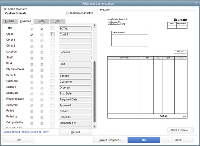 What If: I Need to Customize Check Forms in QuickBooks
