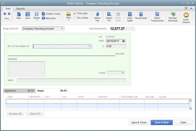 picture relating to Quickbooks Printable Checks known as What If: I Have to have in direction of Customise Monitor Types inside QuickBooks