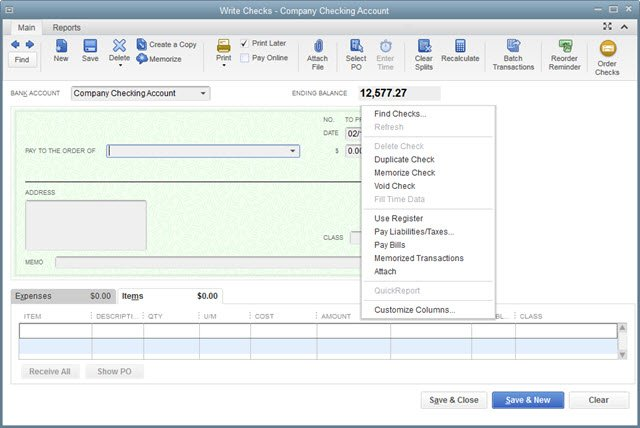 what if  i need to customize check forms in quickbooks