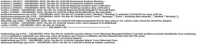 QBWin.log file example