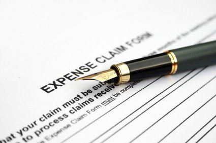 Expense Report (with pen)