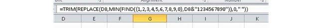 A long boring Excel formula