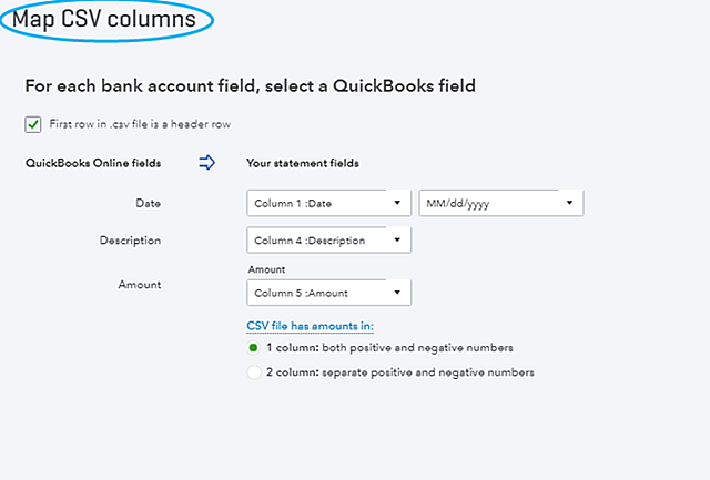 Converting QuickBooks SelfEmployed To QBO Insightfulaccountantcom - Quickbooks invoice import csv