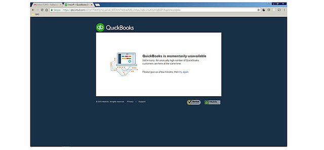 There is a problem with QBO