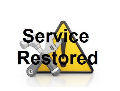 Service Restored