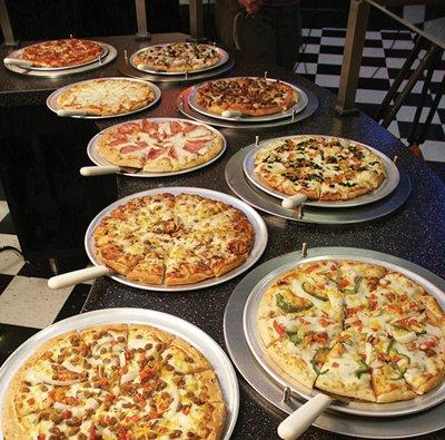 Pizza choices