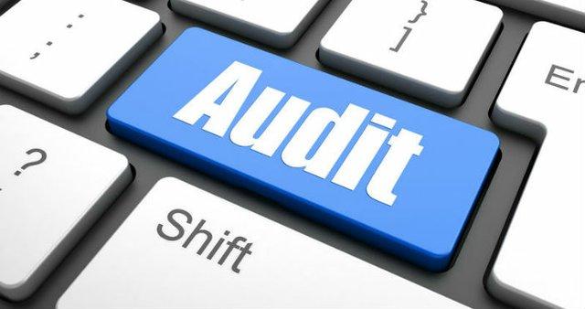 audit button