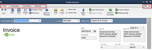 QuickBooks Training Materials Part Insightfulaccountantcom - Quickbooks invoice pending non posting