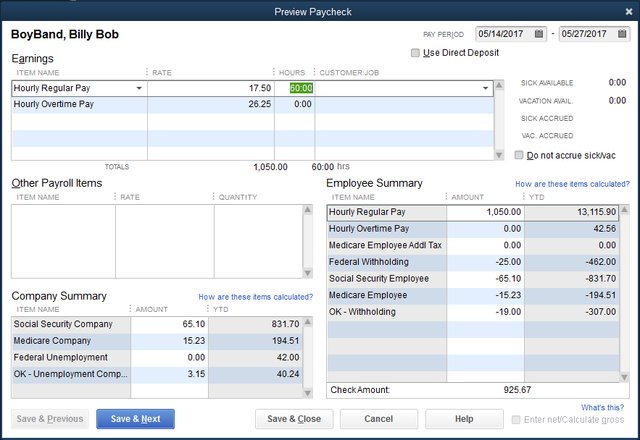 What If: QuickBooks Payroll Taxes Are Not Computing