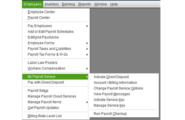 Payroll Service Subscription