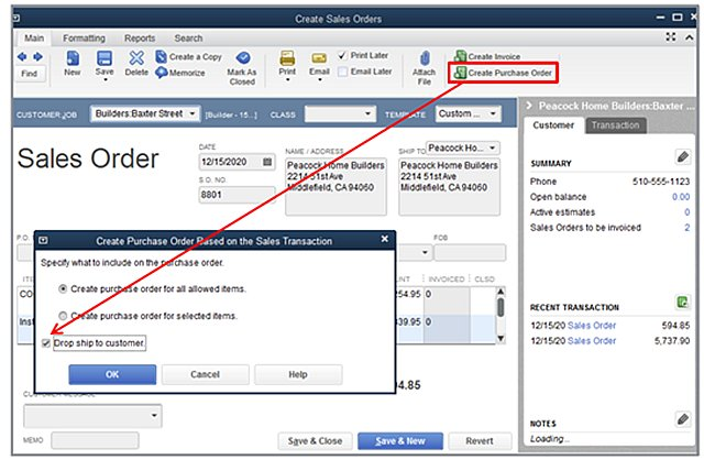 Sales Order Create PO