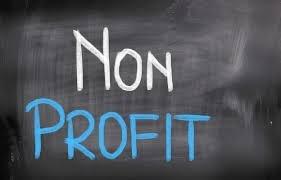 non profit chalkboard