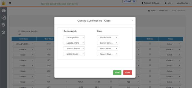 HammerZen HDPro Customer_Class_Tracking