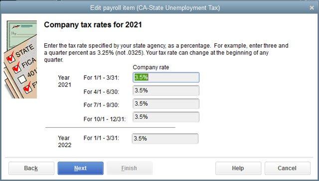 State Payroll Item