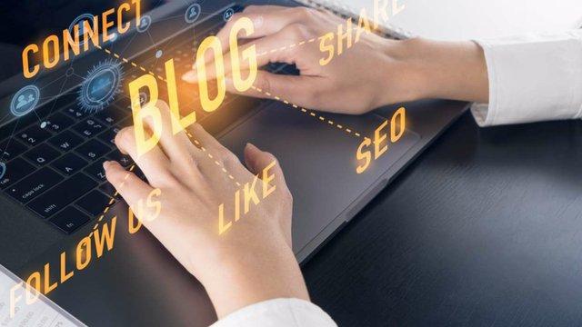 blogging pix