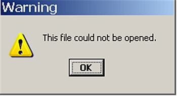 File Failure