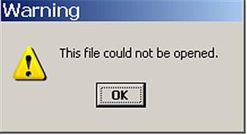 File Failure