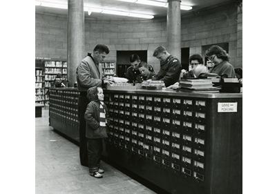 Dewey decimal card system