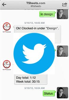 Twitter your TSheets