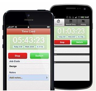 TSheets iPhone App