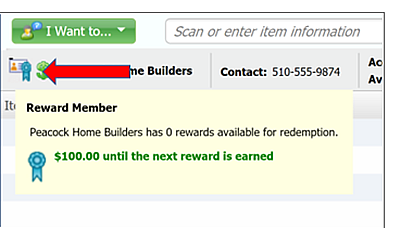QBPOS V18 Customer Rewards change