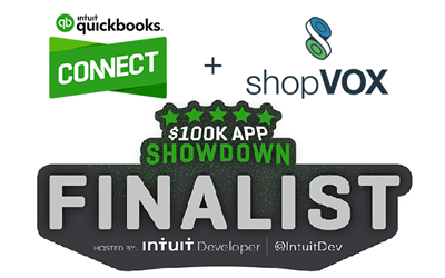 shopVox Intuit Finalist