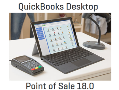 QuickBooks Point-of-sale V18