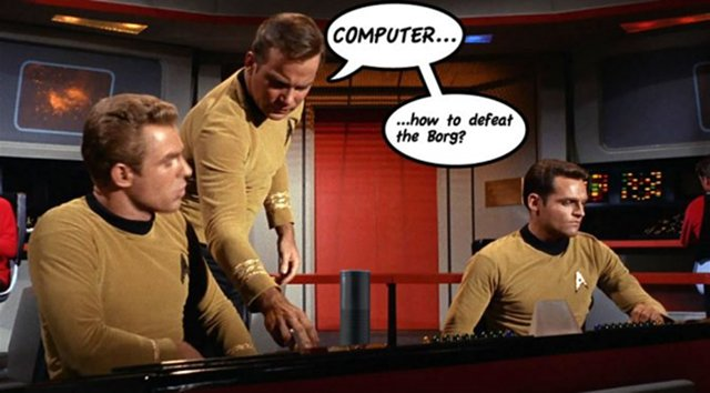 Starship Enterprise Computer