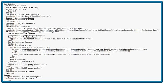 Stylized query usign SQL