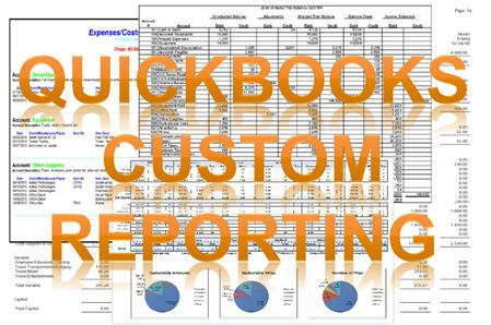 QuickBooks Custom Reporting