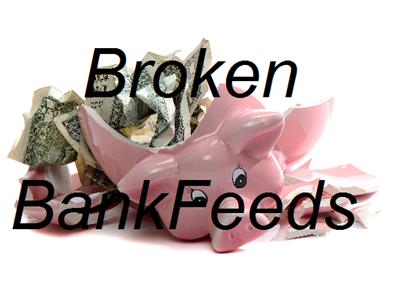 Broken BankFeeds