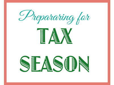 Preparing for Tax Season