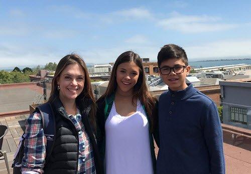 Amanda and family