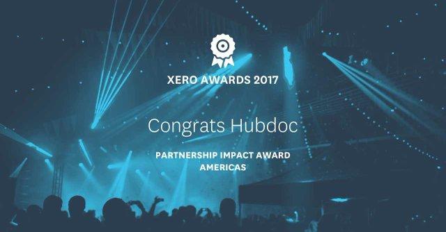 Hubdoc Xero Awards 2017