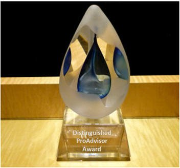 Distinguished ProAdvisor Award