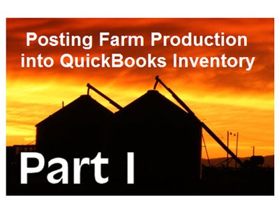 Posting Farm Production - Part 1