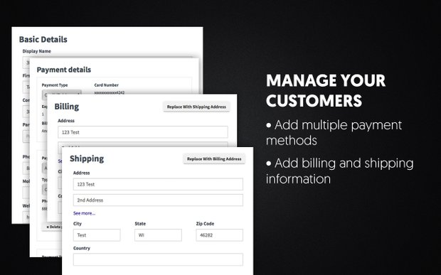 Manage Your Customers