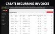 Create Recurring Invoices
