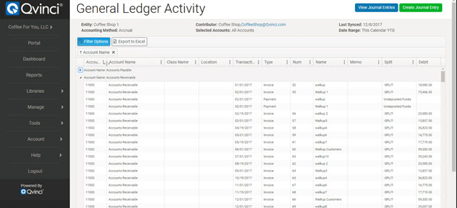 First Look at Qvinci's General Ledger Sync Solution