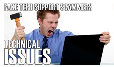Fake technical support