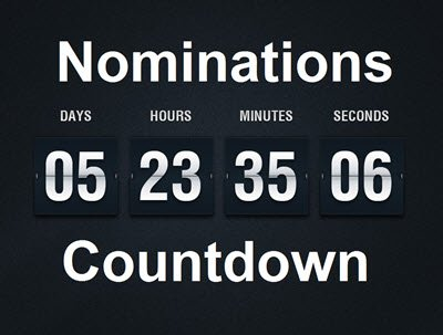 Nominations Countdown