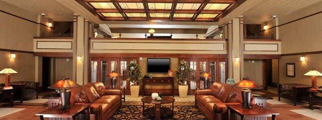 Park Inn Hotel lobby