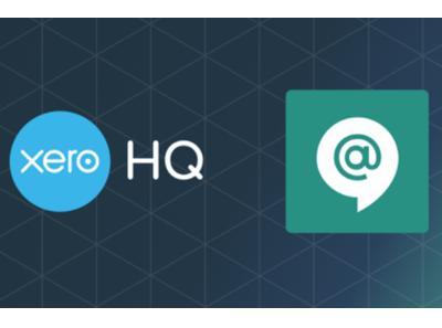 Xero + Google Hangouts Chat 4x3